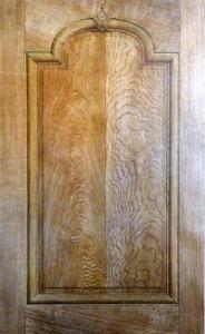 Panneau d'imitation Chêne avec fausses moulures