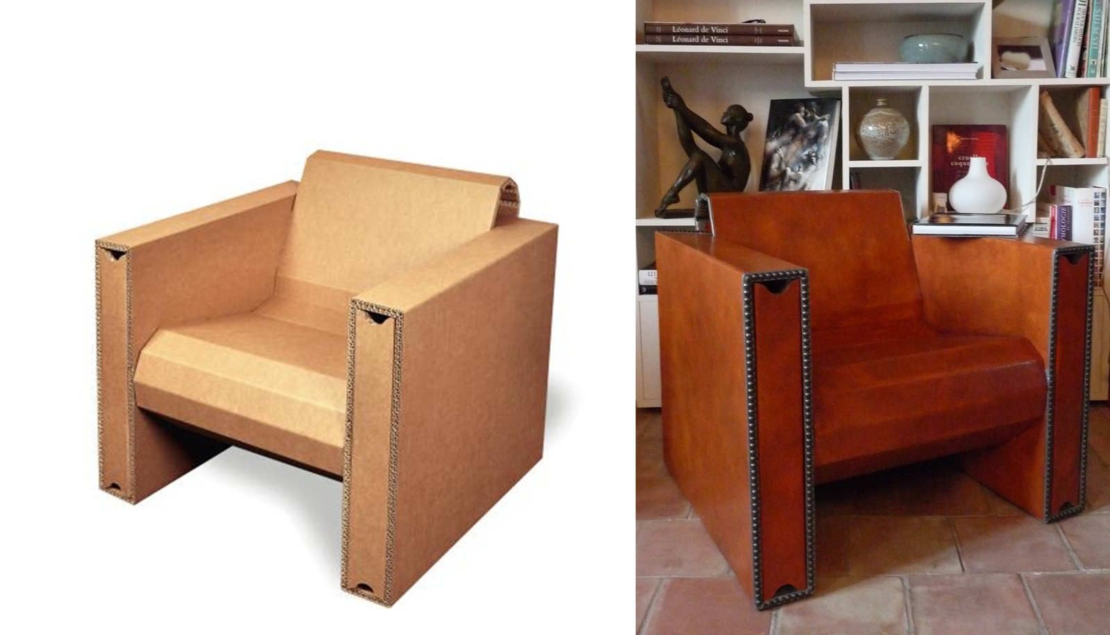 Vente meuble en carton meubles en carton vendre atelier for Meuble en carton
